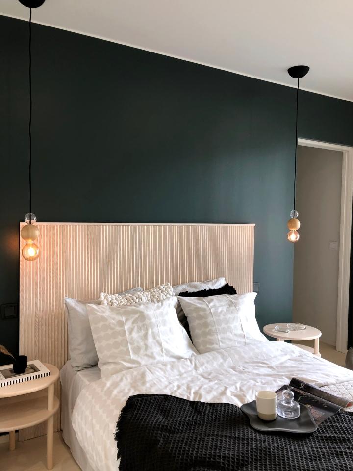 Inspiraatiota makuuhuoneen sisustukseenAsuntomessuilta