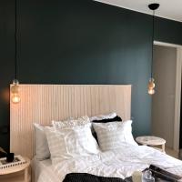 Inspiraatiota makuuhuoneen sisustukseen Asuntomessuilta