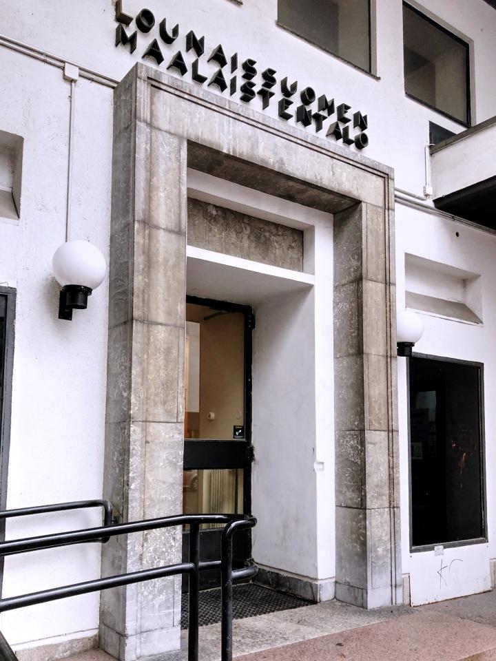 Modernia arkkitehtuuria Turussa
